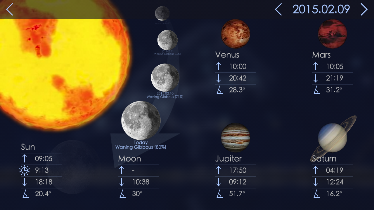 Star Walk 2 - Night Sky Guide Screenshot 13