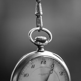 Antique pocket watch by Jørn Lavoll - Artistic Objects Antiques ( hanging, time, clock, watch, antique )