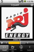 Screenshot of Radio ENERGY (NRJ) Bulgaria