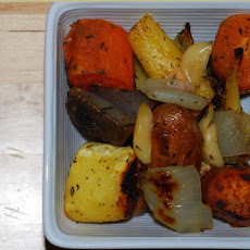 Rootin' Tootin' Roasted Roots - Roasted Root Vegetables in Paper