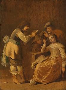 RIJKS: Pieter Jansz. Quast: painting 1647