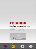 Screenshot of TOSHIBA WiFi Connect