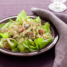 Turkey Salad with Grapes, Tarragon, and Celery