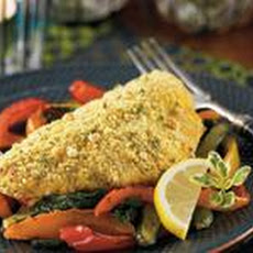 Peanut Crusted Cornmeal Catfish