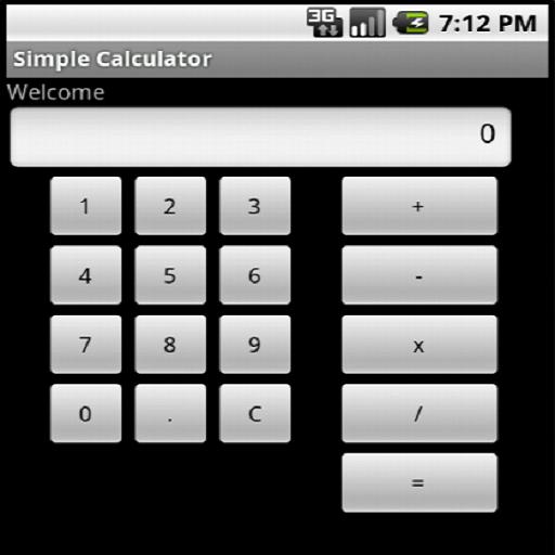 Simple Calculator LOGO-APP點子