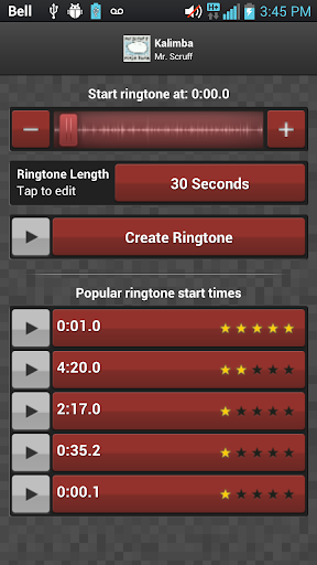 Screenshot #2 of Ringtone Maker Pro / Android