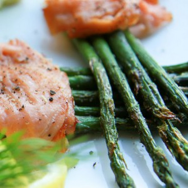 Asparagus and Smoked Salmon Bundle Recipe | Yummly