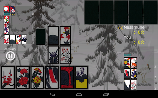 Screenshot of Hanafuda KOI KOI Free
