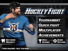 Screenshot of Hockey Fight Lite