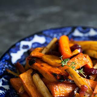 Roasted Root Vegetables Brown Sugar Recipes