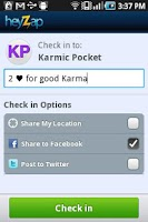 Screenshot of Karmic Pocket