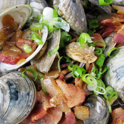 Clams and Bacon
