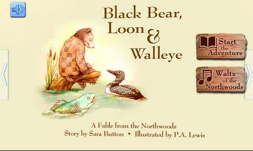 Black Bear Loon and Walleye