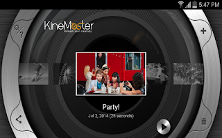 Screenshot of KineMaster – Pro Video Editor
