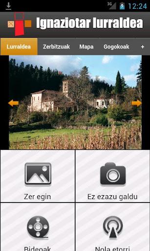 Tierra Ignaciana. Tres templos