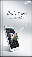 Screenshot of GALAXY NoteII User's Digest(S)