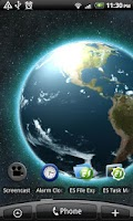 Screenshot of VA Earth Live Wallpaper