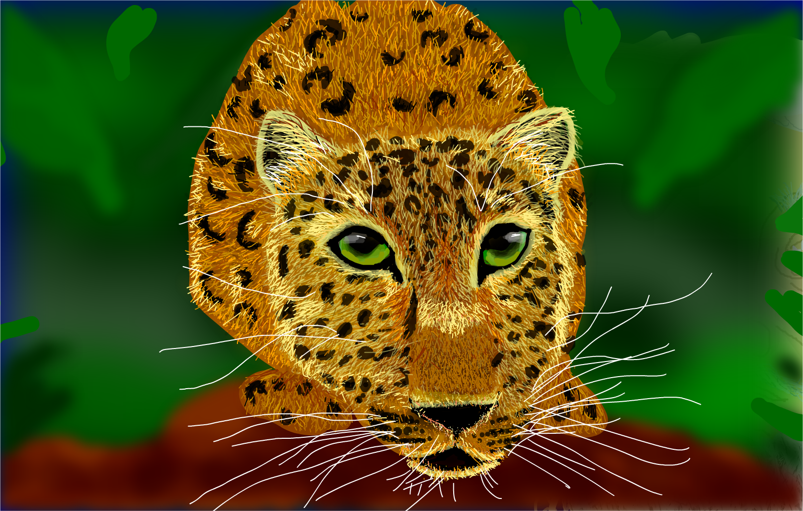 Leopard with Layering...