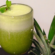 Minty Pineapple Juice