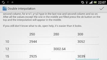 Screenshot of CalcPro