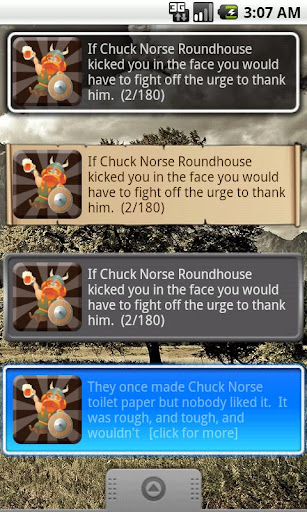 Chuck Norse Facts Donation
