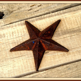 Rusty Star by Wendy Thorson - Artistic Objects Antiques