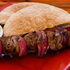 Lamb Shish Kabob Recipe with Wheat Pita and Tzatziki Sauce