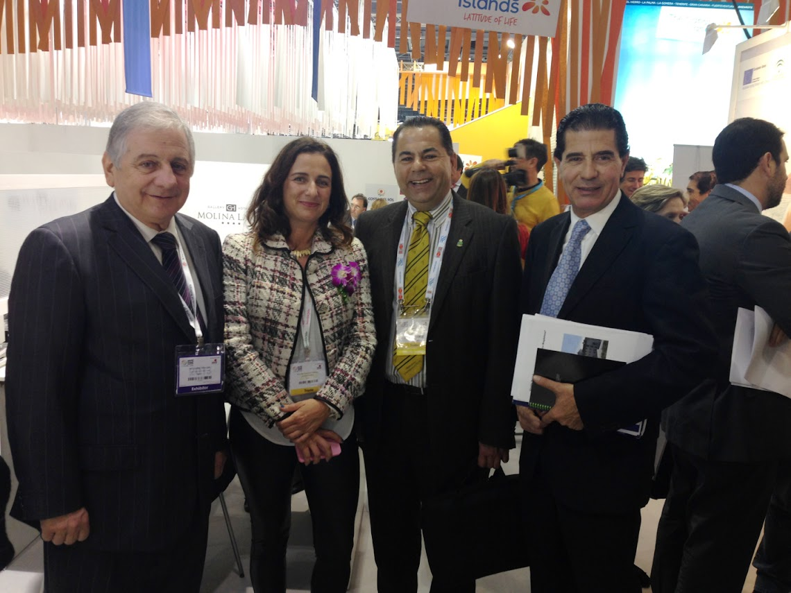 HOTEL ANTEQUERA PROMOTES THE CITY ONCE AGAIN AT THE WORLD TRAVEL MARKET