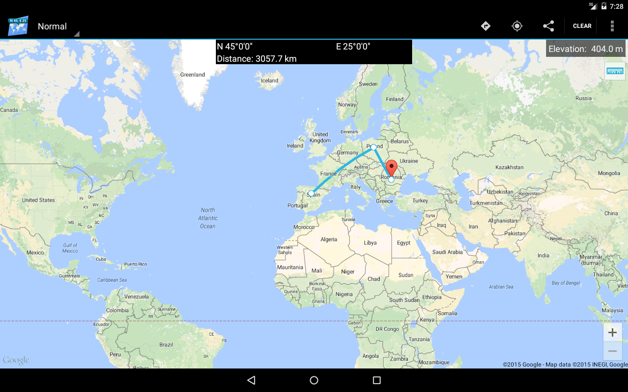 how to find coordinates google maps