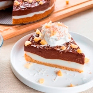 Mom's Chocolate Haupia Pie