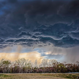 Edmond Storm by Paul Haines - Landscapes Weather