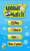 Screenshot of Animal Match