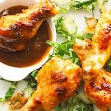 Chicken Wings in Peanut Sauce