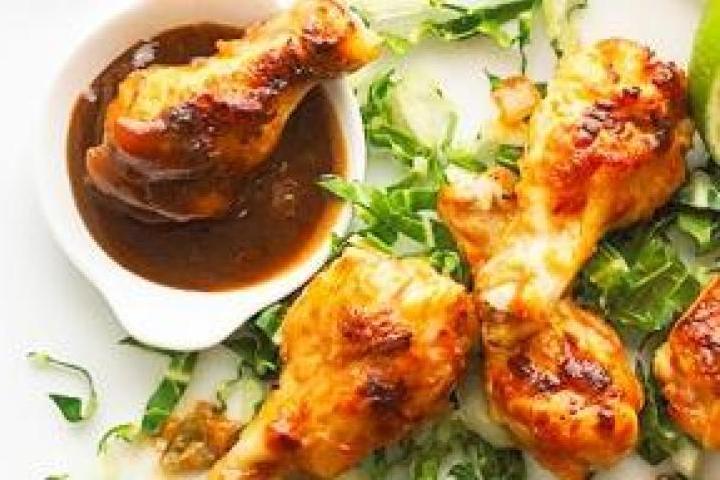 Chicken Wings in Peanut Sauce