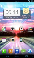 Screenshot of 360 Launcher LG Theme