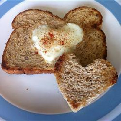 Valentine's Egg In A Hole