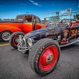 Street Rod by Ron Meyers - Transportation Automobiles