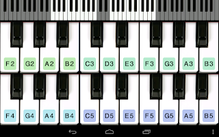 Screenshot of Piano For You