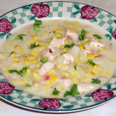 Corn and Chicken Chowder