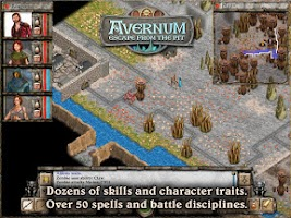 Screenshot of Avernum: Escape From the Pit