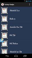Screenshot of Turkey Radyo