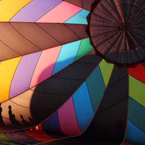 Hot Air Balloon by Bryan Rasmussen - Artistic Objects Other Objects ( hot air balloon, sillouette )