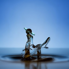 The Beautiful Lady by Teddy Hariyanto - Abstract Water Drops & Splashes