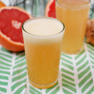 Grapefruit Honey Ginger Soda Syrup
