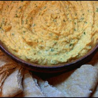 Spicy Orange Hummus