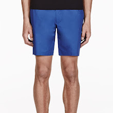 Marc By Marc Jacobs Blue Harvey Twill Shorts