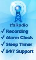 Screenshot of tfsRadio Ethiopia