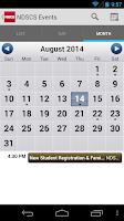 Screenshot of NDSCS