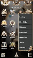 Screenshot of Holy Light GO LauncherEX Theme