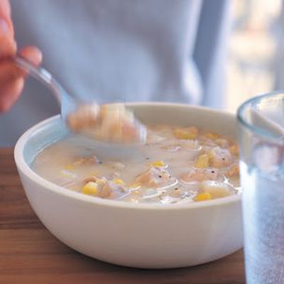 Make-Ahead Chicken and Corn Chowder